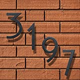 Hy-Ko Products FM-6/4 Floating House Number 4