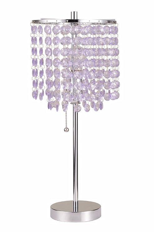 Amazon Com Benzara Chandelier Metal Designed Table Lamp Light