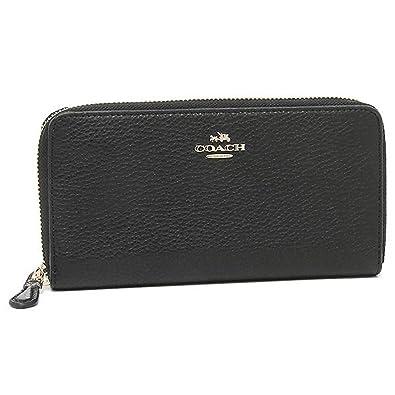 3d9a8cd099f9 Amazon   [コーチ] COACH 財布 (長財布) F57215 ブラック IMBLK レザー ...