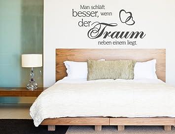 I-love-Wandtattoo 12122 Wandtattoo Schlafzimmer Wandspruch \