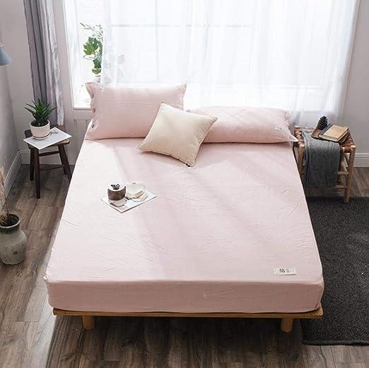 GAOXUE Bedding Funda de colchón,Sábanas Ajustables de algodón y ...