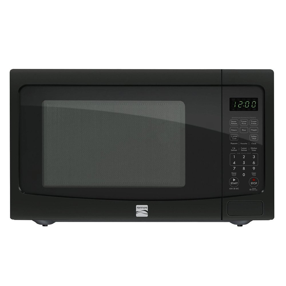 Amazon.com: Kenmore 1.2 cu. ft. Countertop Microwave w/ EZ Clean ...