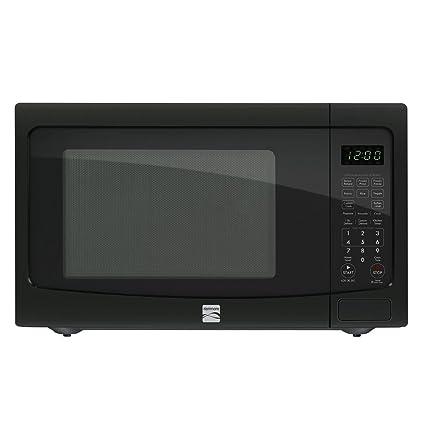 amazon com kenmore 1 2 cu ft countertop microwave w ez clean rh amazon com kenmore toaster oven manual Kenmore Portable Dishwasher Manual