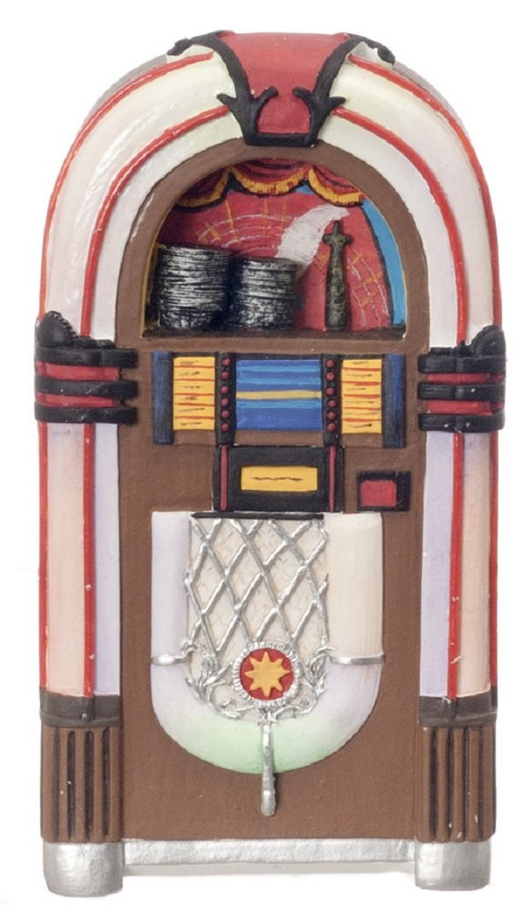 Aztec Imports, Inc. Dollhouse Miniature Retro Jukebox