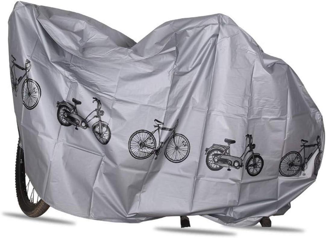 Zeroall Funda Bicicleta Impermeable Funda para Bicicleta Universal Funda de Protecci/ón Bicicleta Cubierta de Lluvia para Bicicleta Moto Scooter Ciclomotor