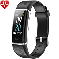 Fitness Tracker, Willful Orologio fitness Braccialetto Schermo a Colori Watch Bracciale Cardiofrequenzimetro da Polso Smartwatch Pedometro Impermeabile IP68 Donna Uomo Bambini Bluetooth HR Sport per Samsung Huawei iPhone Android iOS Smartphone (Activity Tracker, Contapassi, Calorie, Distanza, Cardio, 14 Modalità Sport, Notifiche Messaggio, Controllo Remoto Fotocamera, Allarme)