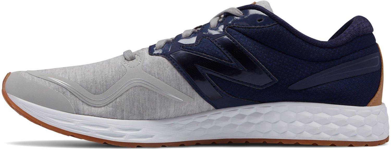 New Balance Men's Vnzv1 Running Shoe B073SB7WW2 11.5 2E US|Silver/Navy