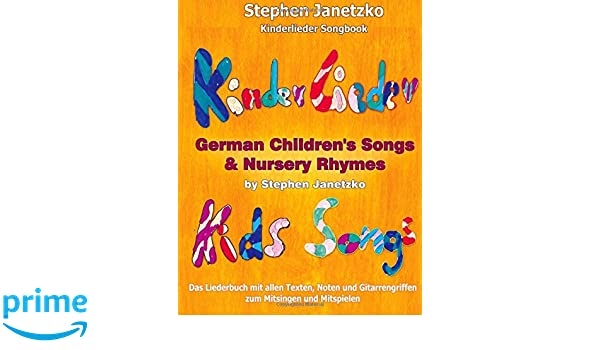 Kinderlieder Songbook German Childrens Songs Nursery