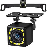 Reversing Camera, 12LED Lights, Ultra-high-Definition Night Vision, Long License Plate Bracket and Universal Bracket…