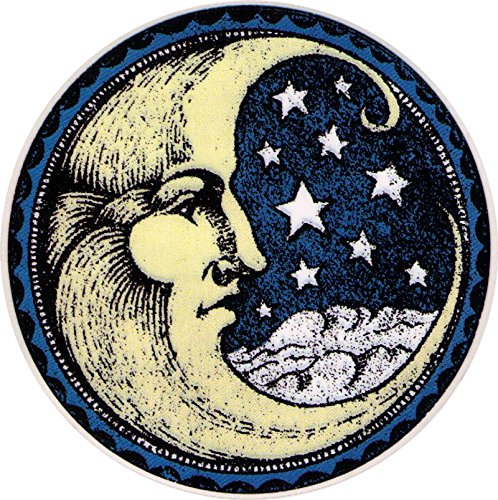 Crescent Moon - Window Sticker / Decal (4.5