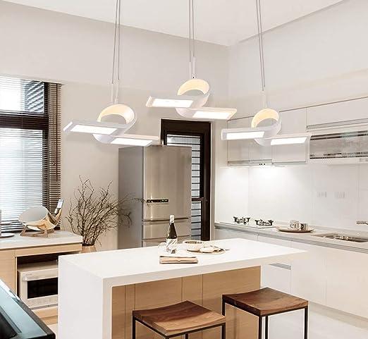 LED Lámpara colgante Comedor 54 W Iluminación de color ...