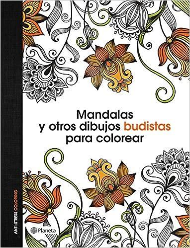 Mandalas y otros dibujos budistas para colorear: AA. VV.: Amazon.com ...