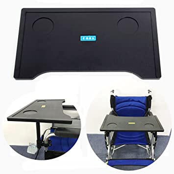 Magnificent Amazon Com Wheelchair Table Lap Tray Desk Accessories With Beutiful Home Inspiration Semekurdistantinfo