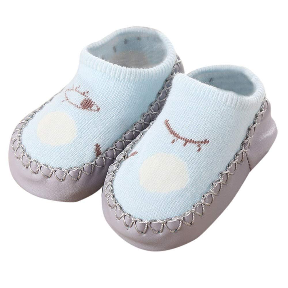 Kinder Mädchen Junge antirutschsocken cartoon slipper schuhe stiefel 3-15monat