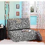 Your Zone Flip Chair Zebra stripe