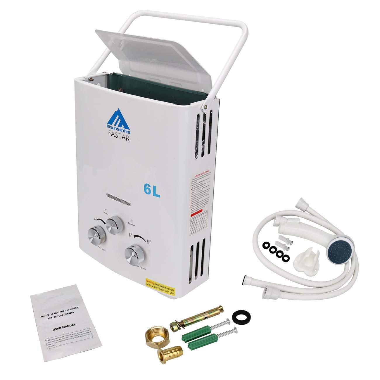 Especificaciones tecnicas calentador de agua a gas