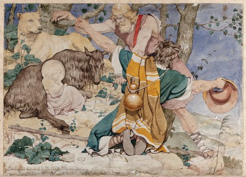 Richard Dadd Watercolors