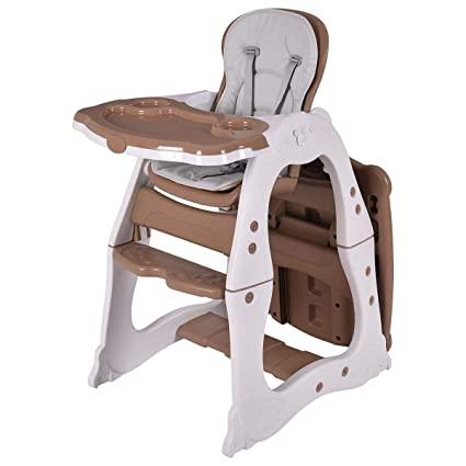 605f5f9e3a463 3 in 1 Baby High Chair Convertible Play Table Seat Booster Toddler Feeding  Tray 3 Positions