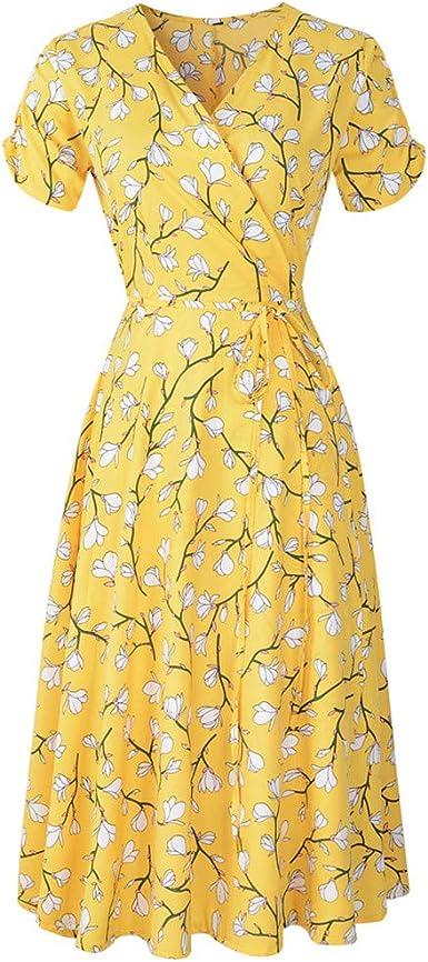 80s Navy Blue Floral Viscose Dress Flower Print Button Up Short Sleeve Summer Gown Shoulder Pads Church Dress Boho Hippie Romantic Medium
