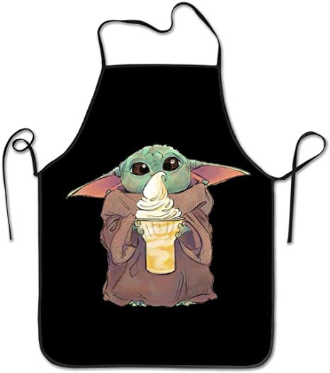 Details about  /Comfortable Apron Bib with Adjustable Neck for Cooking by Ambesonne