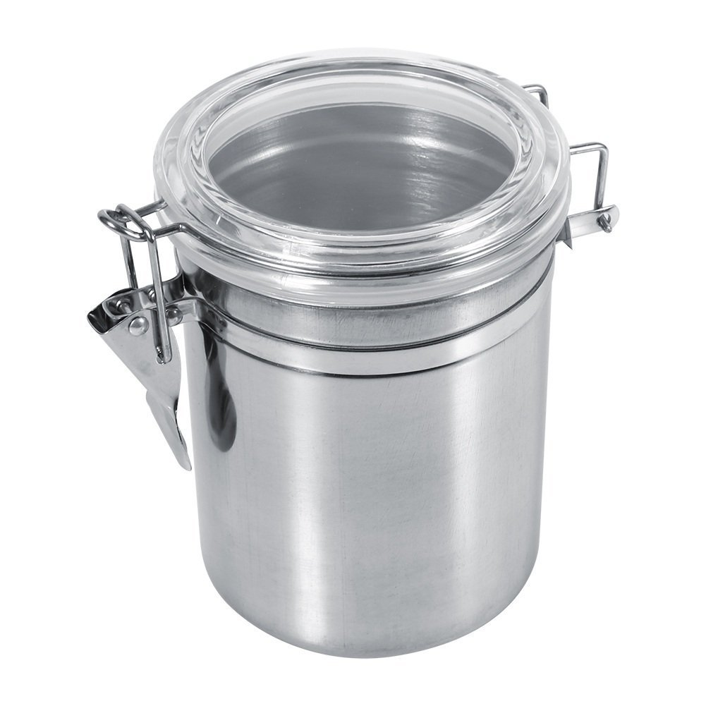 Caja Contenedor De Almacenamiento De Alimentos De Acero Inoxidable Impermeable contenedor de de granos grano de caf/é para cocina 4Pcs