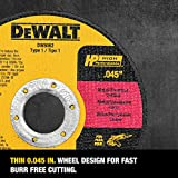 DEWALT Cutting Wheel, General Purpose Metal