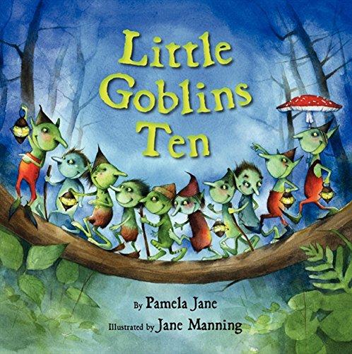 Little Goblins Ten (Cute Halloween Stories For Preschoolers)