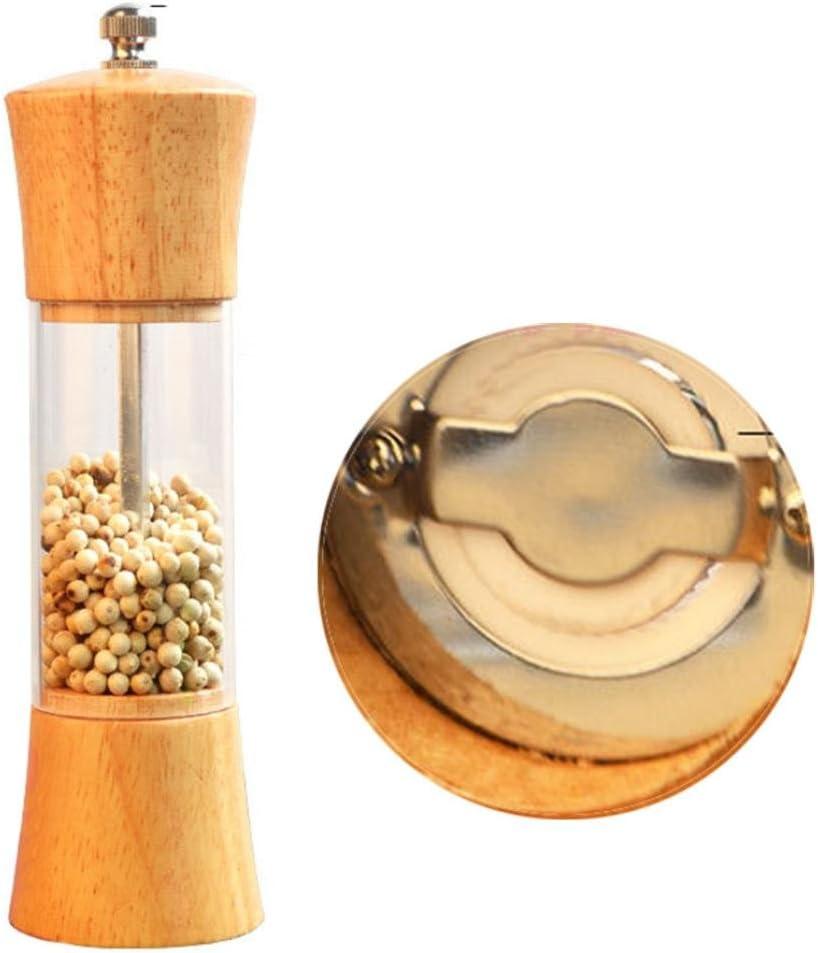 Iuhan Pepper Spice Salt Mill Shaker Grinder Manual Muller Kitchen ...