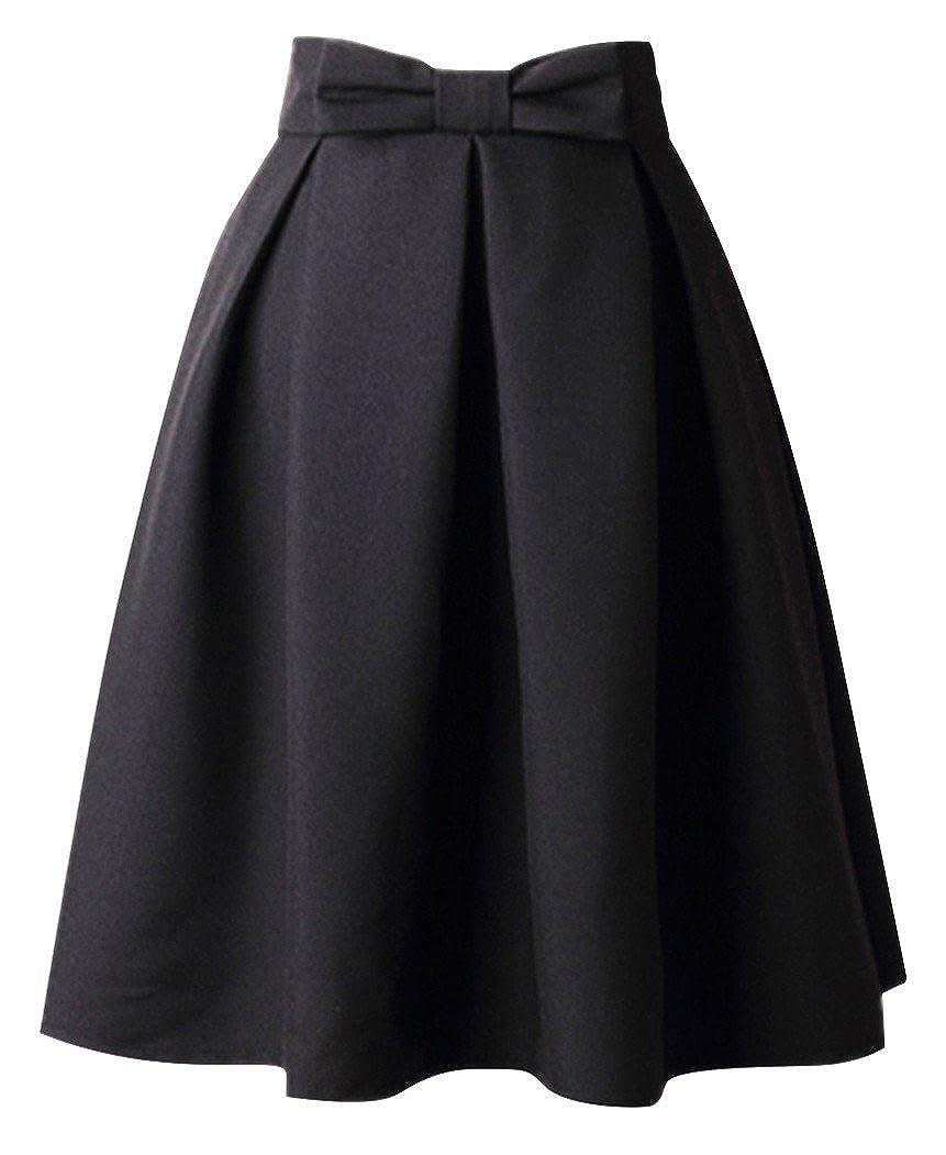 Damen Rock Wetlook Minirock Bodycon mit Transparent Spitze Röcke Schwarz M L XL