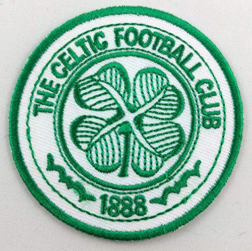 (Embroidery Patch Celtic Football Club FC Scotland Soccer Badge Applique 2.5