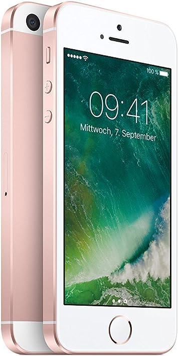 Apple iPhone SE 64GB 4G Rosa - Smartphone (SIM única, iOS, NanoSIM, EDGE, GSM, DC-HSDPA, EVDO, HSPA+, UMTS, LTE): Amazon.es: Electrónica
