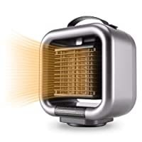 Deals on Mumba Mini Space Heater, 650W/1000W Fan Heater