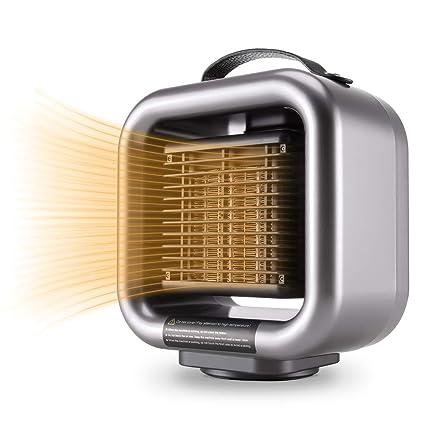 Amazon.com: Mumba Mini Space Heater, 650W/1000W Fan Heater PTC ...