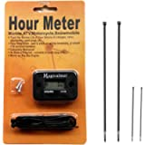 Magicalmai Inductive Hour Meter for Gas Engine Lawn Mower Dirt Bike Motorcycle Motocross Snowmobile Karting Marine ATV…