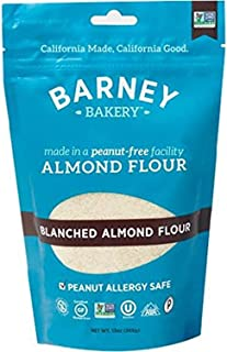 product image for BARNEY Skin-Free Almond Flour, Paleo, KETO, Non-GMO, Peanut-Free, 13 Ounce