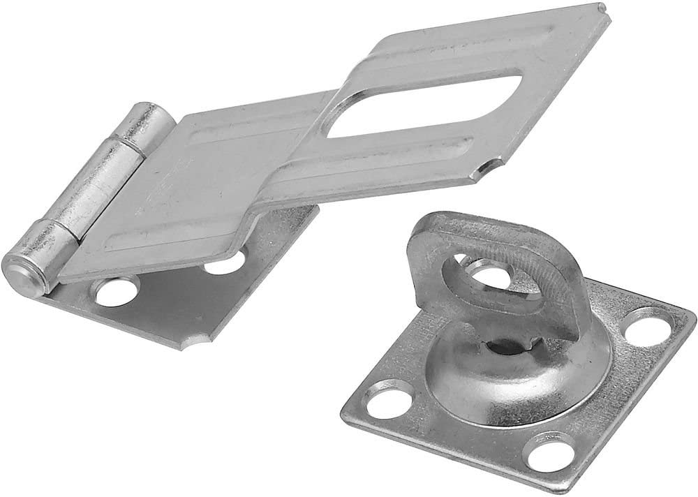 National Hardware N102-921 V32 Swivel Staple Safety Hasp in Zinc plated