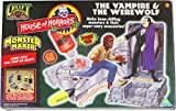 Vintage 1996 Creepy Crawlers ''The Vampire & the Werewolf'' Monster Maker House of Horror Set by ToyMax