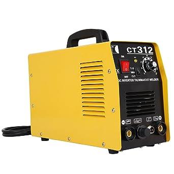 Ridgeyard 220V multifuncional 3 en 1 aire cortador de plasma inversor TIG soldador soldadura máquina de