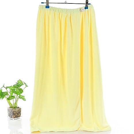 MIWANG Microfibra vestido de baño, batas de absorción de agua preciosa Envolvió Pecho vestido de