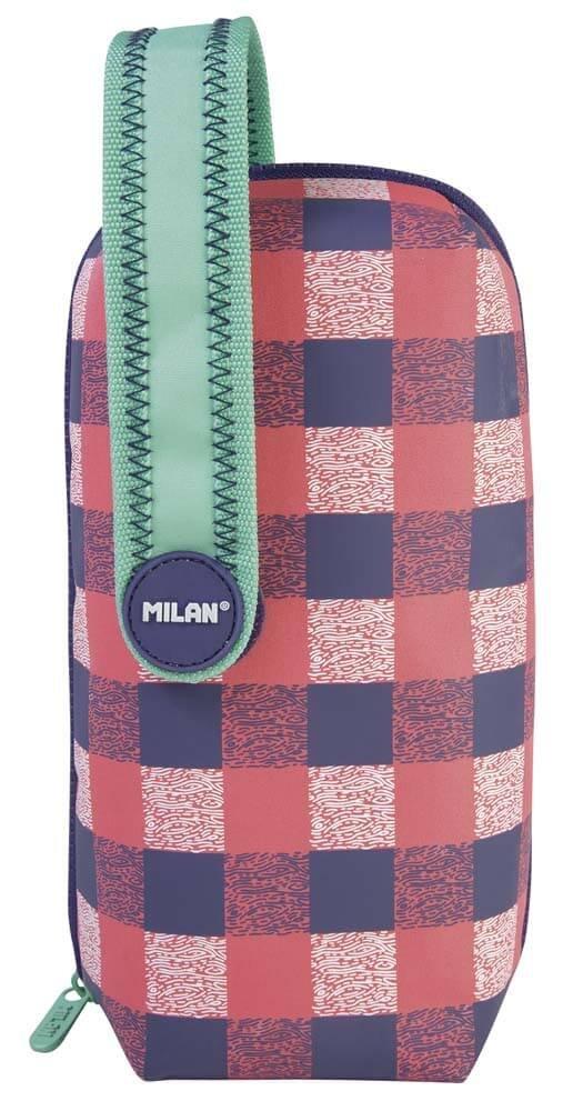 Estuche Milan Pulu Land Pink Handly Multipencilcase 31 ...