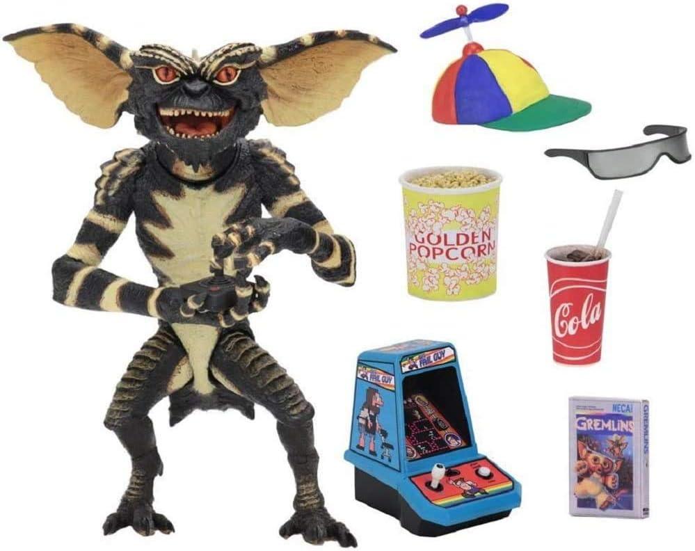 "Neca Ultimate a righe Gremlins Movie Scala da 7/"" pollici Action Figure HORROR Gremlin"