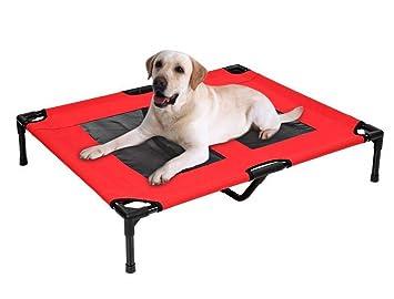 Amazon.com : Dog Bed Mesh Trampoline Hammock Indoor Outdoor ...