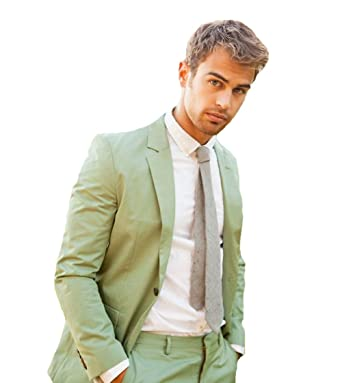 08f170724624 Mint Green Men Suits Custom Made 2 Pieces Business Men Casual Party Tuxedos  for Men-