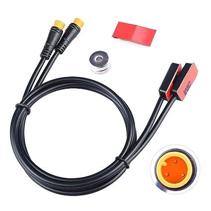 Cable de Freno de Apagado para Ebike Sensor de Freno hidr/áulico el/éctrico para Bicicleta//Bicicleta con Sensor de Rotura Bafang