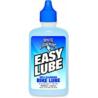 White Lightning Easy Lube Bike Lubricant Squeeze Bottle, 2-Ounce