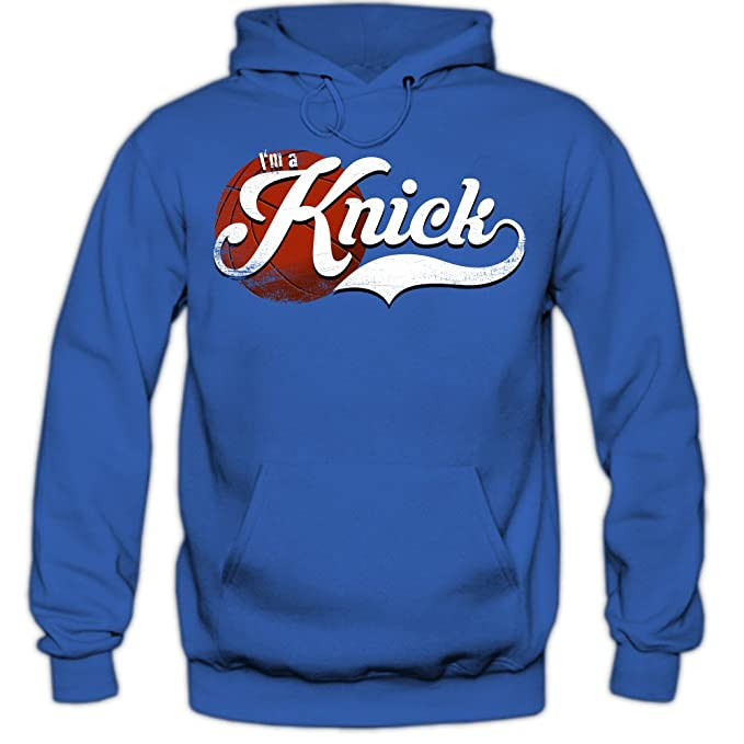 True Knick #4 Sudadera con Capucha | Hombre | Basketball | Play Offs | Champion