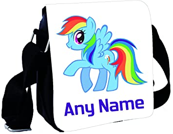 shires art printing personalised rainbow dash my little pony small