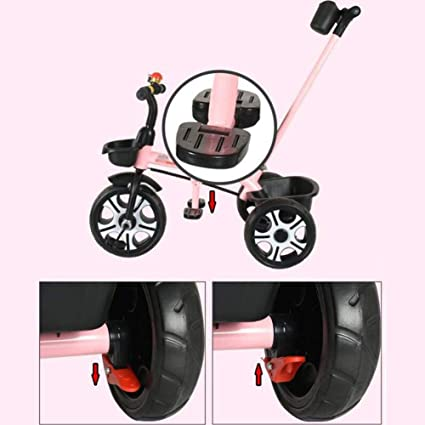 L.TSN Niños Trike Cochecitos De 3 Ruedas Triciclo Niñas 3 Ruedas ...