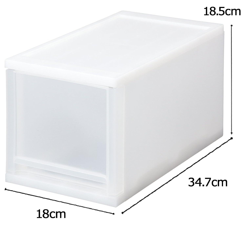 Amazon|サンコープラスチック 小物収納 ブリオ CDケース 幅18×奥34.7×高18.5cm ホワイト|収納ケース・ボックス オンライン通販