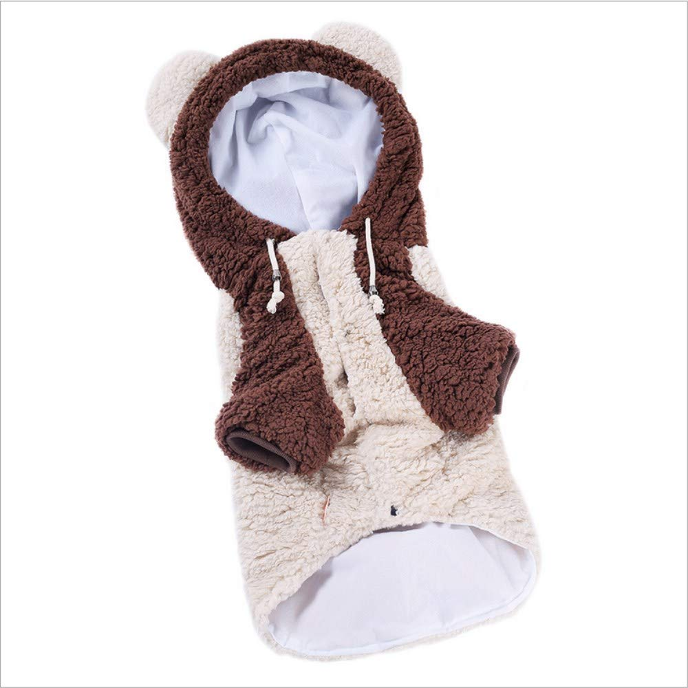 White 7XL White 7XL YAMERIJIA Big Dog Clothes, Medium-Sized Large Dog Pet Two-Legged Clothes, Autumn And Winter Clothes 3Xl-8Xl